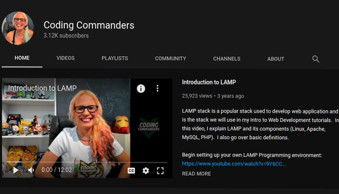Coding Commanders YouTube